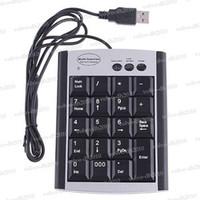 Wholesale Keys USB Numeric number Keypad Keyboard Calculator