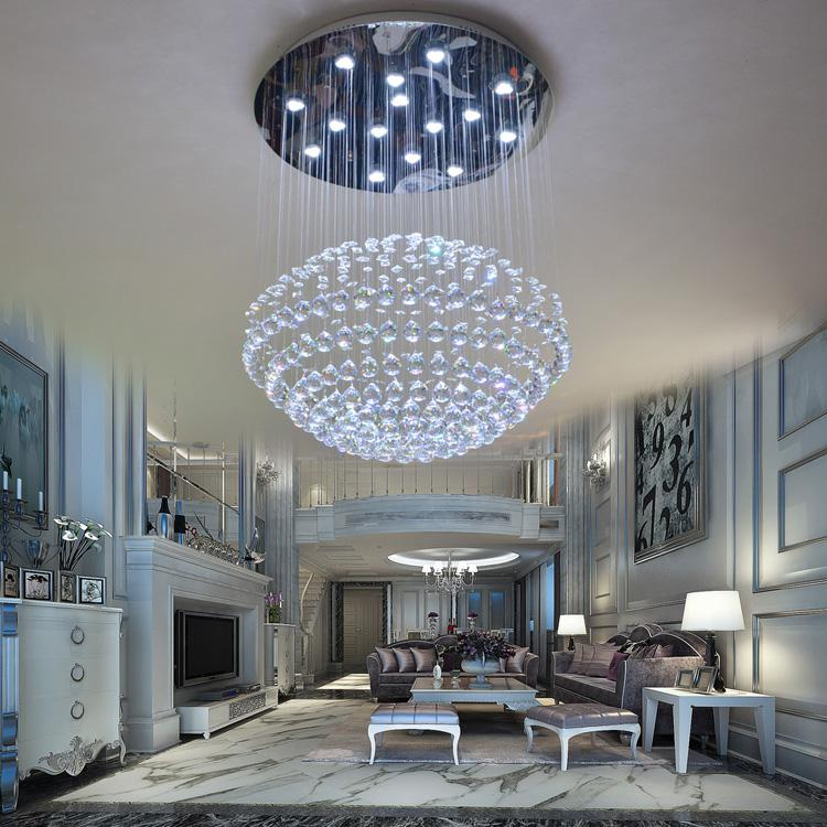 crystal pendant lighting. Luxury Crystal Pendant Light Brief Modern Led Restaurant Lamp Stair 1009 Lighting Online With I