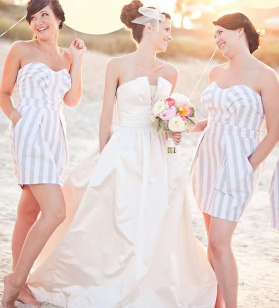 Zebra Bridesmaid Dresses 114