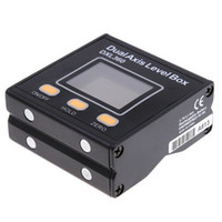 Wholesale High Accuracy High Resolution Digital Protractor Inclinometer Dual Axis Level Box DXL360 H762