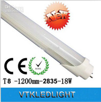 T8 18w SMD 2835 New Arrival!18W T8 LED Fluorescent Tube Light Lamp 1.2m 4 feet Cool White Warm White 1800lm 85-265V 50pcs lot