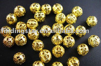 Wholesale 2500PCS Gold plated filigree spacer beads mm M289