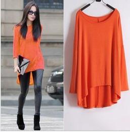 Wholesale Womens Modal long sleeve T shirts loose fashion stylish loose shirts women casual western style