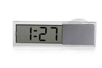Wholesale Car Transparent Suction Cup Digital LCD Display Auto Car Clock