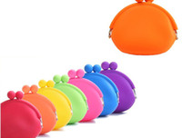 10 colors japanese dress style - Silicone Coin Purse Lovely Coin Bag Silicone Money Bag Puse Japanese Style Coin Wallet