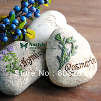 Cheap rural resin simulation painted stone, garden lawn decoration,Arts and crafts ,Home decorations