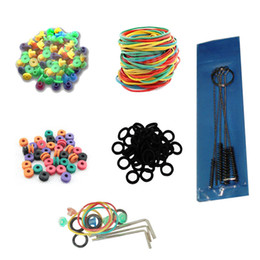 Wholesale Tattoo Needle Pad Tattoo O Rings Tattoo Rubber Band Tattoo Adjusted Tools Tattoo Cleaning Brush For Tattoo Gun Needle Ink Tips Grips Kits