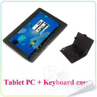 Wholesale Best gift Tablet PC Keyboards Case quot Allwinner A13 Q88 Dual Camera Android wifi M G