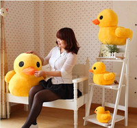 Wholesale Plush Toys Big yellow duck plush toys plush toys children s toys small yellow duck doll