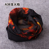 Wholesale Magic Scarf Multifunctional scarf Scarves Outdoor Seamless Collar Caps Variety Magic scarf Mask multi color