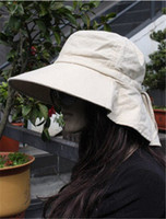 Wholesale Korean women summer hats UV sun hat large brimmed beach hat riding sunscreen shawl fashion millinery