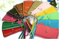 Wholesale 2015 Wallet Envelope Purse Clutch Hand Bag HOT Fashion WOMEN PU Leather Holder Handbags Wallets Totes Agood colors Y632