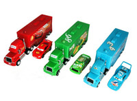 trucks - Mack colorful hauler Pixar Zinc Alloy Car Hick Thai Cars Chick Lightning car Kid Truck