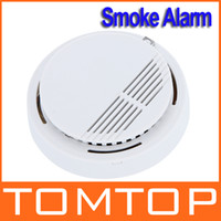 Wholesale High Sensitivity Stable Photoelectric Smoke Alarm Fire Smoke Detector Sensor Home Security System for Home Freeshipping H9487