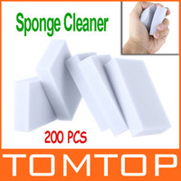 Wholesale Magic Sponge Cleaner Eraser Melamine Cleaner Multi functional Sponge for Cleaning x62x20mm Grey Freeshipping H9392