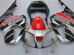 H1019 Silver red CASTROL Fairings for Honda VTR RVT 1000 R 1000R VTR1000 RVT1000 SP1 RC51 fairing kit