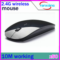 Wholesale DHL G wireless mouse and micesuper slim mouse Multicolour RW PC