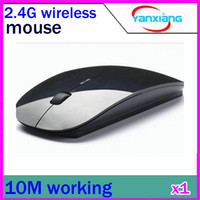 Wholesale In stock wireless mouse and mice G receiver super slim mouse RW PC