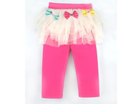 Girls Leggings 7 Points Leggings Girls Dress Top Quality YWY...