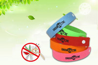 Cheap Free shipping 10000pcs lot Mosquito insect anti bracelet band baby writstband Repellent Bracelet