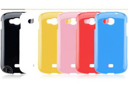 Wholesale For Samsung Galaxy Axiom R830 TPU rubber material solid color gloss surface