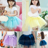 Wholesale girls fluffy skirts petticoats children veil skirts tutu princess dresses culottes ball gown clothes GIRLS tutu Dress Z153