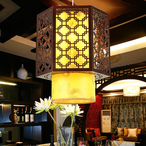 2017 Chinese Style Lamps Bedroom Pendant Light Wooden