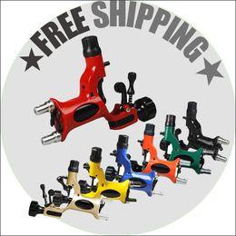 Top Selling Dragonfly Tattoo Machine Gun Rotary Motor Machine Liner Shader 7 Colors Tattoo Supply WQ010