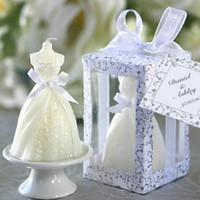 Wholesale Creative fashion Wedding Candle Favor Candle Wedding Favor Wedding Dresses