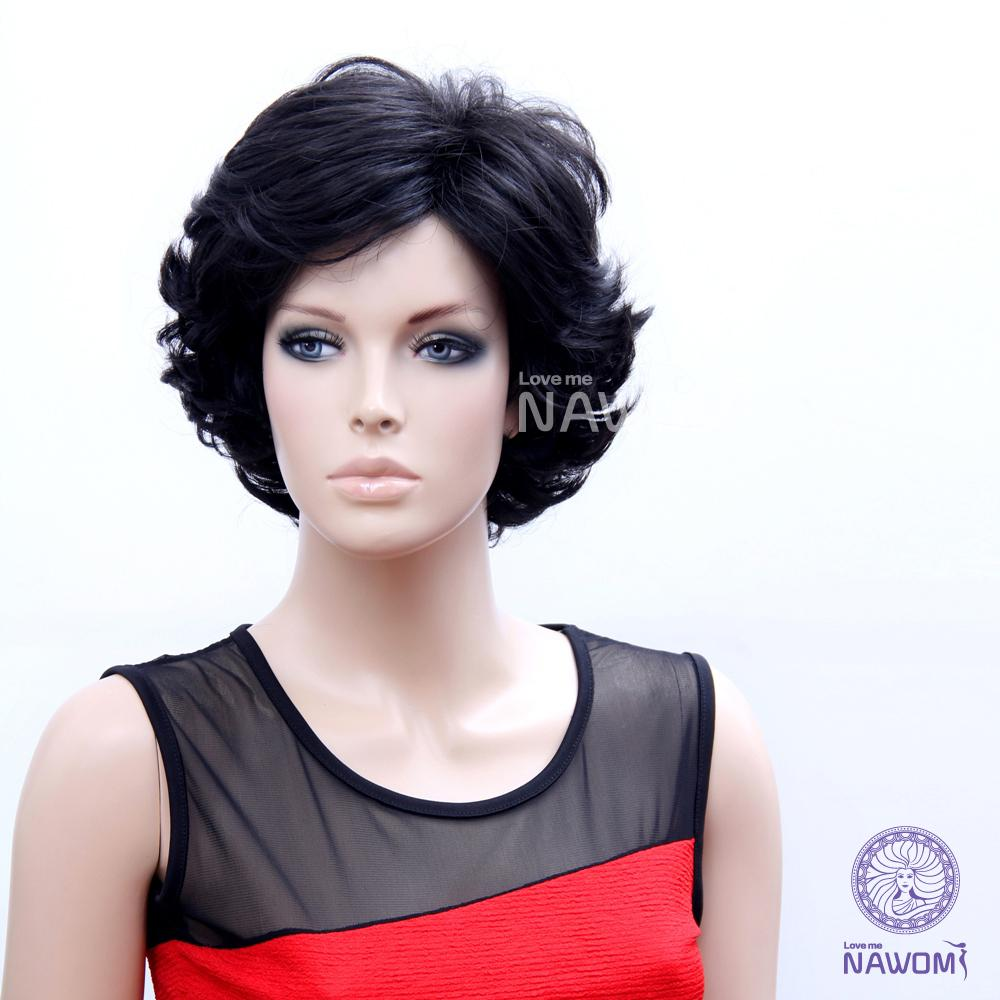 Black Wigs For Women Hair Weaves Short Wigs Natural Looking Wig ...