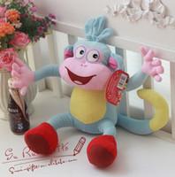 game dora - New High Quality Soft Plush Dora the Explorer BOOTS The Monkey Plush Dolls Toy New inch