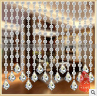 Wholesale Scrub large crystal bead transparent beads product creative DIY curtain