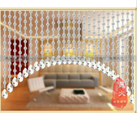 Wholesale Scrub large crystal bead transparent beads finished crystal bead curtain