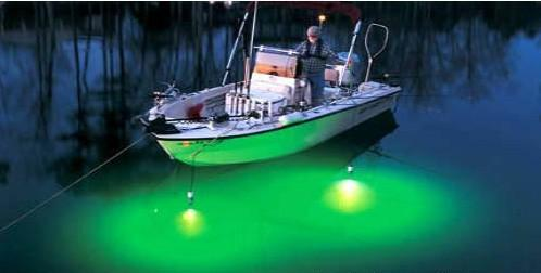 green fishing lights for boats images, Reel Combo