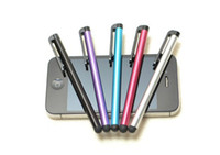 Wholesale Capacitive Touch Screen Stylus Pen For Iphone c ipad air For Galaxy note Huawei LG Nexus HTC M8 Colors