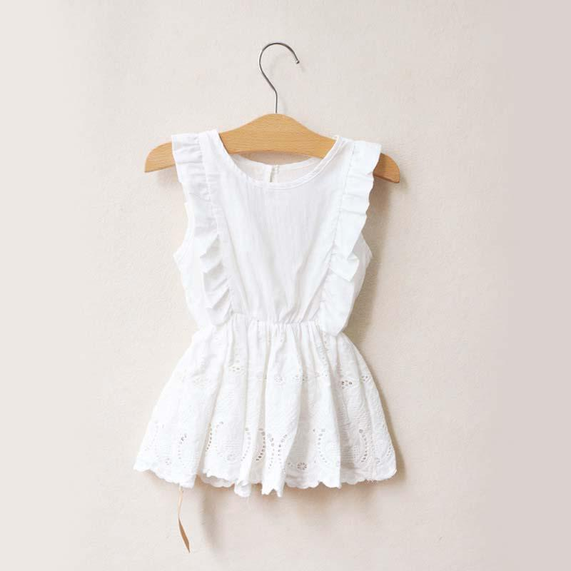 Where to Buy Girls White Cotton Lace Dress Online? Where Can I Buy ...