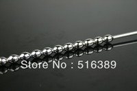 Male Catheters & Sounds  2013 New Male Urethral Stretching Catheter Chastity Tube Stainless Steel High grade Sex toys for man