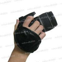 Hand Straps camera hand strap grip - NEW Camera Hand Strap Grip for Canon Nikon Sony Olympus Pentax Fuji Battery GripsNew generic Camera Hand Strap Version Black