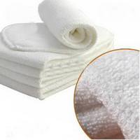 Wholesale 30pcs hot sale Layers Super Absorbent Bamboo Cloth Diaper Inserts Diaper Liners