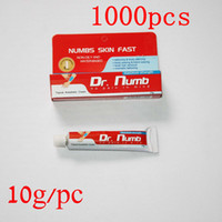 Wholesale 1000pcs g Dr Numb Top Quality Anesthetic Cream Painless Tattoos Cream For Artists Professional