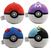 Wholesale NEW Anime Pokemon Pocket Monster Plush Ball Plush Doll Toys Pet elf elf ball color