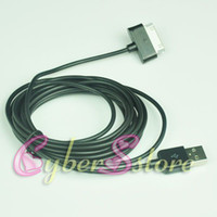 Wholesale 200pcs M ft Data USB Sync Data Charger Cable for Samsung Galaxy Note N8000 galaxy tab S P5100 P1000 P7500