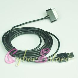 USB 200шт 3M 10ft Data Sync зарядное устройство кабель для Samsung Galaxy Note N8000 10.1, вкладки Galaxy 3 4 S 10,1 P5100 P1000 P7500