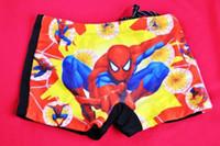 Boy Bikinis 2T-3T Kids Swimwear Spiderman Child boy boxer swim trunks swimming Baby swimsuit 5pcs lot mixed color size fits all MZ10