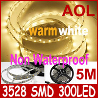 Holiday flat led rope light - 10m LED Flexible Light Strips Warm white SMD non waterproof LED flat rope light car home