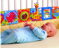 Wholesale Lamaze Baby Toys Lamaze Baby cloth book knowledge around multi touch multifunction fun and colorful bed baby cloth book retail