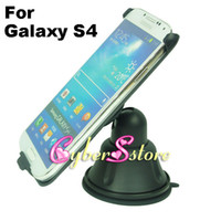 Cheap 20pcs New Car Kit Windscreen Windshield Glass Suction Car Mount Stand Holder Kit Stand For Samsung Galaxy S4 S IV i9500