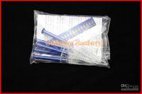 Whitening Kit   Fedex Free Shipping Wholesale 100packs Teeth Whitening 44% Peroxide Dental Bleaching System Oral Gel Kit Tooth Whitener