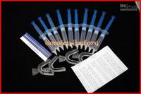Whitening Kit   Fedex Free Shipping Wholesale 30packs Tooth Teeth Whitening Whitener 35% Carbamide Peroxide Gel Bleaching Kit