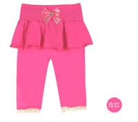 5pcs Girls Leggings Children Leggings for Summer Girls Dress...